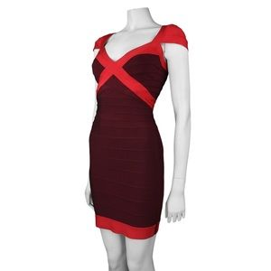 "Herve Leger ""Umeki"" Bandage Dress, Brand New"